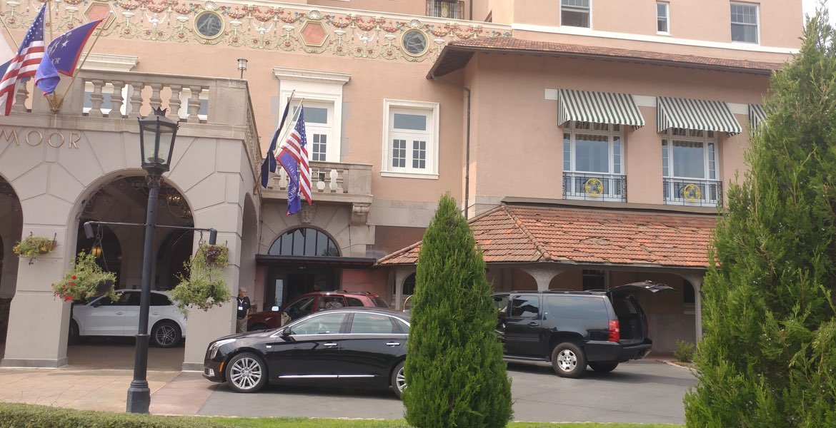 The Broadmoor Hotel in private car service from Denver International Airport