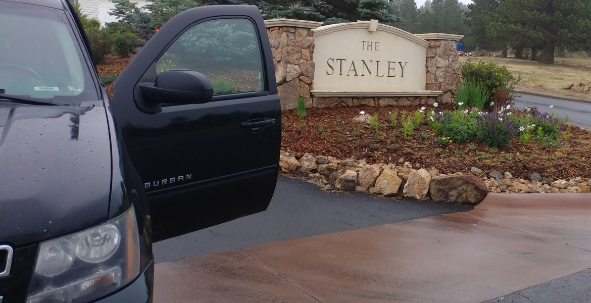 Stanley Hotel In Estes Park, CO to Denver airport car service
