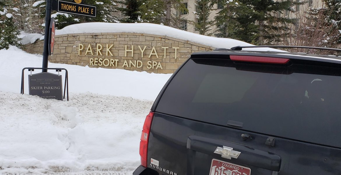 park hyatt beaver creek transportation