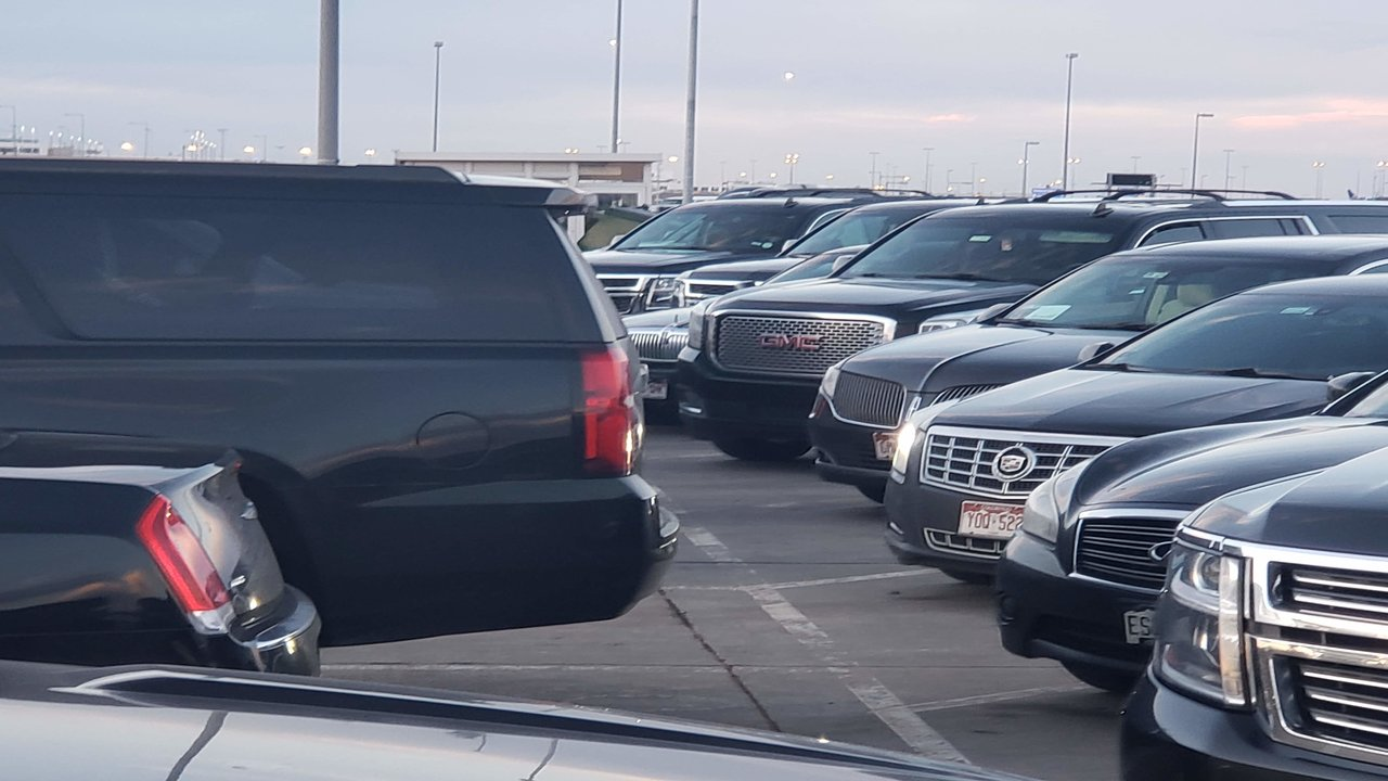 Fleet of cars at DIA